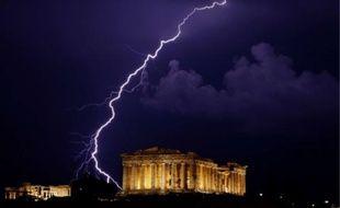 Après Coup de foudre à Notting Hill, coup de foudre sur l'Acropole.