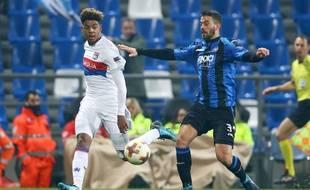 Willem Geubbels, ici lors de ses débuts européens, à seulement 16 ans, le 7 décembre contre l'Atalanta Bergame (0-1).