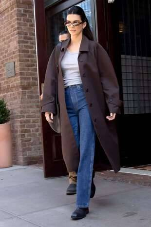 Kendall Jenner, le 14 octobre, à New York.