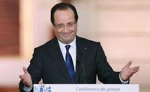 Conférence de presse de François Hollande le 16 mai 2013.