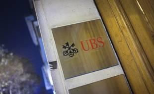 Les locaux d'UBS à Paris.