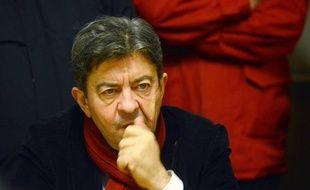 Jean-Luc Mélenchon, le 12 décembre 2012 à Florange.