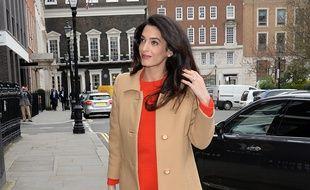 L'avocate Amal Clooney à Londres