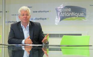 Philippe Grosvalet, président (PS) du conseil département de Loire-Atlantique