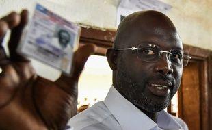 George Weah est en lice pour le second tour de l'élection présidentielle au Liberia.