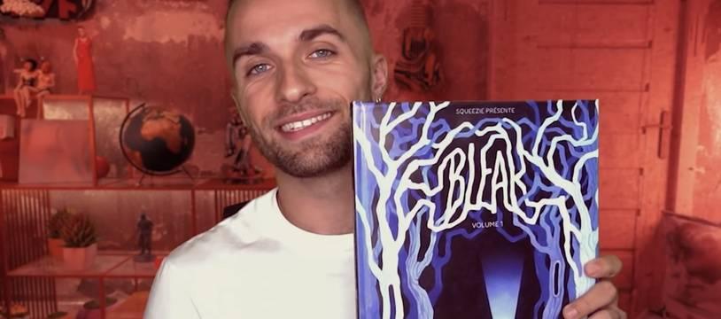 Squeezie et sa BD « Bleak », la première du nom