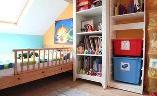 Une chambre d'enfant.
