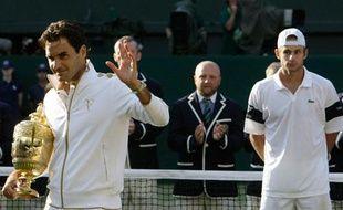 Tout ça pour regarder, dépité, Roger Federer repartir avec le trophée. C'est pas juste, il en a déjà quinze!