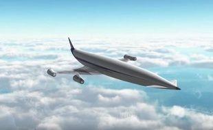 L'avion pourrait rejoindre Londres à Sydney en quatre heures seulement (illustration.