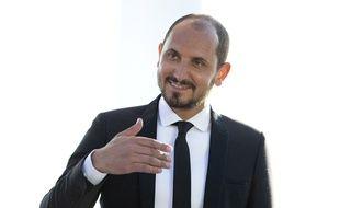 Karim Rissouli dans le «Grand Journal» de Canal+ le 22 mai 2015