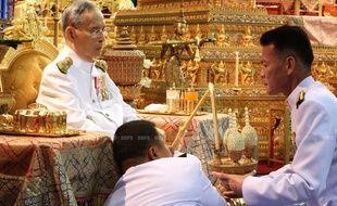 Bhumibol Adulyadej, le roi de Thaïlande, le 5 mai 2014.