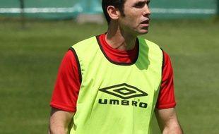 L'ex-défenseur international britannique Martin Keown le 2 juin 2010 à Londres.