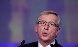 L'ancien Premier ministre luxembourgeois Jean-Claude Juncker à Dublin le 7 mars 2014