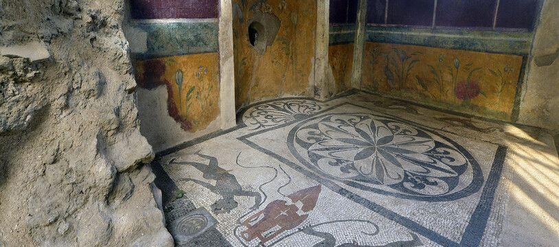 Le site archéologique de Pompéi, en Italie.