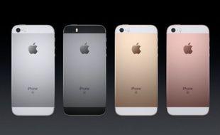 L'iPhone SE sera commercialisé le 31 mars.