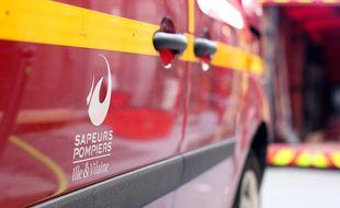 Illustration d'un véhicule des pompiers d'Ille-et-Vilaine, ici à Rennes.
