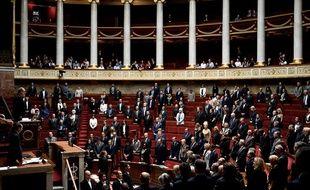 L'Assemblée nationale a observé une minute de silence, le 8 octobre 2019, en hommage aux quatre victimes de l'attaque de la préfecture de police de Paris.