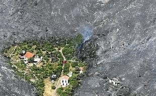 L'incendie avait détruit 1069 ha.