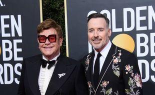 Les époux Elton John et David Furnish