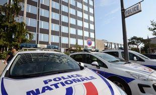 Le commissariat de Vénissieux, en septembre 2012.