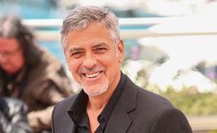 George Clooney au 69e Festival de Cannes (France)