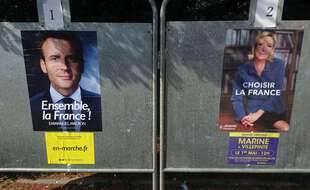 En 2017 déjà, Emmanuel Macron et Marine Le Pen étaient les deux candidats au second tour de l'élection présidentielle.