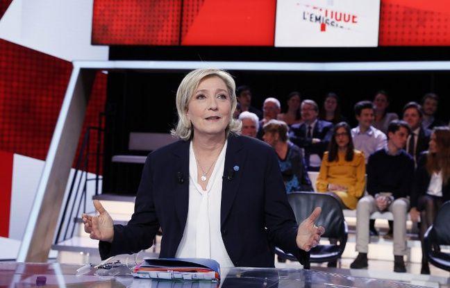 Européennes: Face à face entre Marine Le Pen et Nathalie Loiseau dans «l'Emission politique»