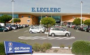 Le centre commercial E.Leclerc des Sables d'Olonne (Vendée).