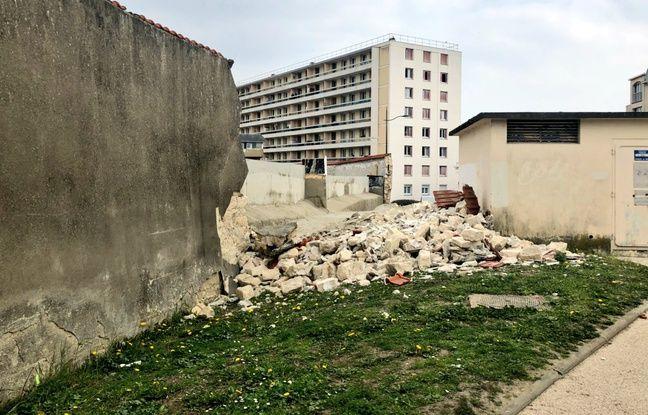 Un pan de mur de la prison de Poissy s'effondre le 28 mars 2019