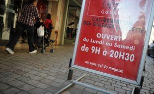 En dehors des deux dimanches précédant Noël, les commerces nantais ayant des salariés ne sont pas autorisés à ouvrir le dimanche.