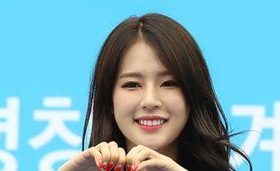 Un événement de promotion des JO 2018 de Pyeongchang, à Séoul, le 5 septembre 2017.