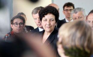 La ministre de l'Enseignement supérieur Frédérique Vidal, lors d'une visite sur le campus de Supélec Rennes