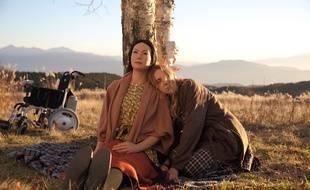 Geminoid F et Bryerly Long dans «Sayonara», un film du réalisateur japonais Koji Fukada.