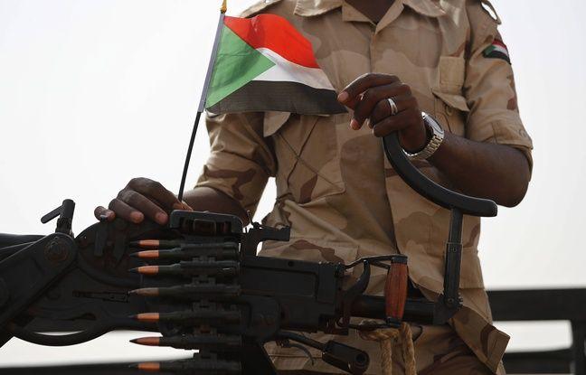 648x415 militaire soudanais drapeau soudan arme illustration