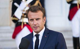 Emmanuel Macron, le 8 septembre 2018.