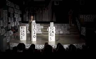 Image extraite d'une vidéo teaser des «#Tocards2020» .