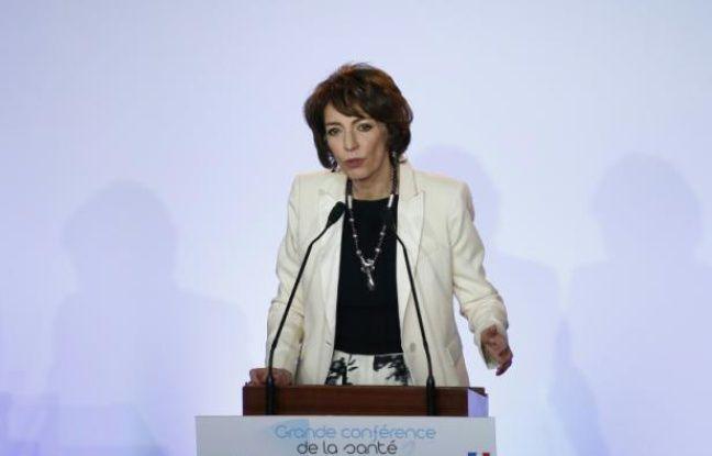 La ministre de la Santé Marisol Touraine lors de la conférence santé le 11 février 2013 à Paris