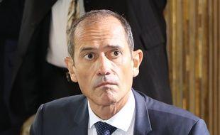 Franck Robine, le préfet de Martinique, à Matignon, à Paris, le 29 juin 2018.