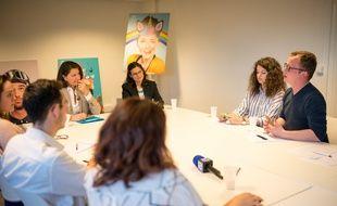 Agnès Buzyn a été interviewée par six jeunes de notre panel sur les thématiques qui les préoccupent le plus selon un sondage 20 MInutes-Opinion Way.