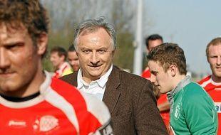 Jean-Claude Branquart, le président du LMR, n'a qu'une seule ambition: l'accession en Pro D2 en fin de saison.