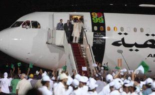 Arrivée de Megrahi, auteur de l'attentat de Lockerbie de 1988, à Tripoli le 20 août 2009