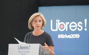 Valérie Pécresse, en meeting à Brive-la-Gaillarde le 31 août 2019.