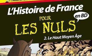 L'histoire de France pour les nuls en BD. Volume 2, Le Haut Moyen Age