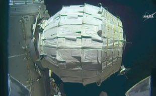 Le module Beam gonflé pour la première fois par la Nasa, le 28 mai 2016.