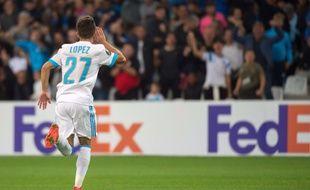 Un match médiocre, un joli but, une célébration pas maligne : drôle de soirée pour Maxime Lopez.
