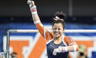 La gymnaste universitaire américaine Sam Cerio.