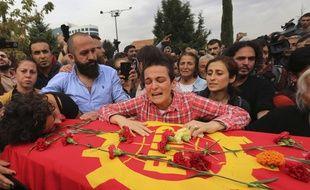 Un double attentat a tué au moins 97 personnes à Ankara, en Turquie, le 10 octobre 2015.