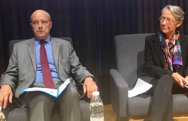 Conférence «Mobilité et Santé» le 21 septembre 2018 avec Alain Juppé et Elisabeth Borne.