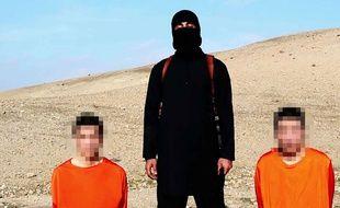 Deux otages de l'Etat islamique.