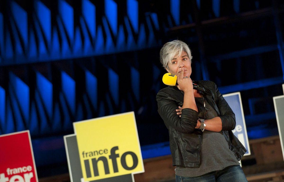 Fabienne Sintès pendant une conférence de presse en 2013 – MEUNIER AURELIEN/SIPA